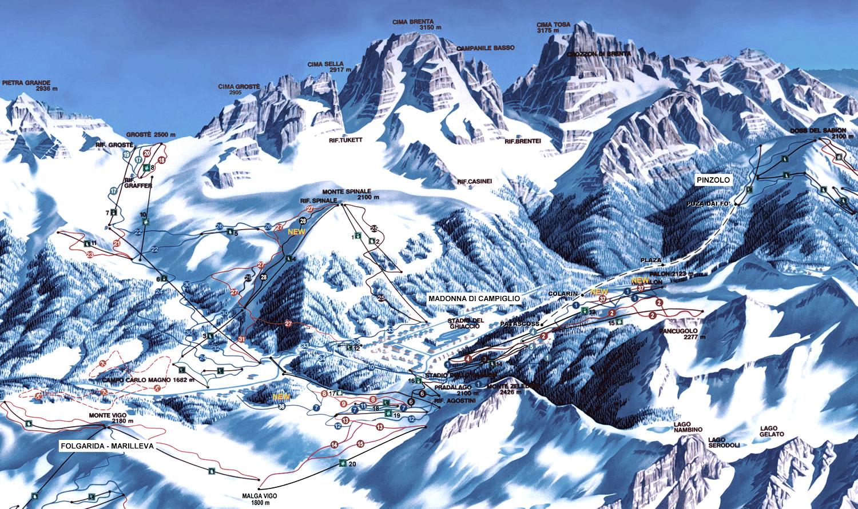 Ski Area Madonna di Campiglio